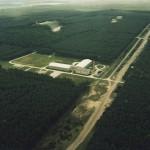 Luftbild Verkehrs-Versuchsgelände Horstwalde von Nordosten