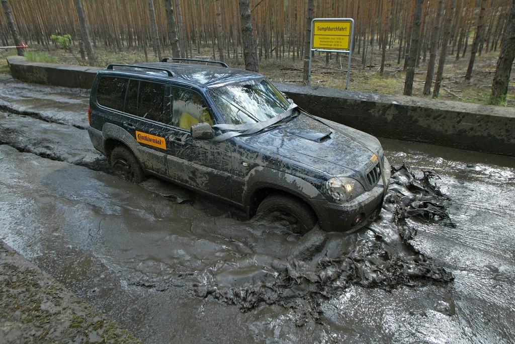 Zur Fahrzeugreinigung kann auf Wunsch die benachbarte Waschrampe der BAM angemietet werden.