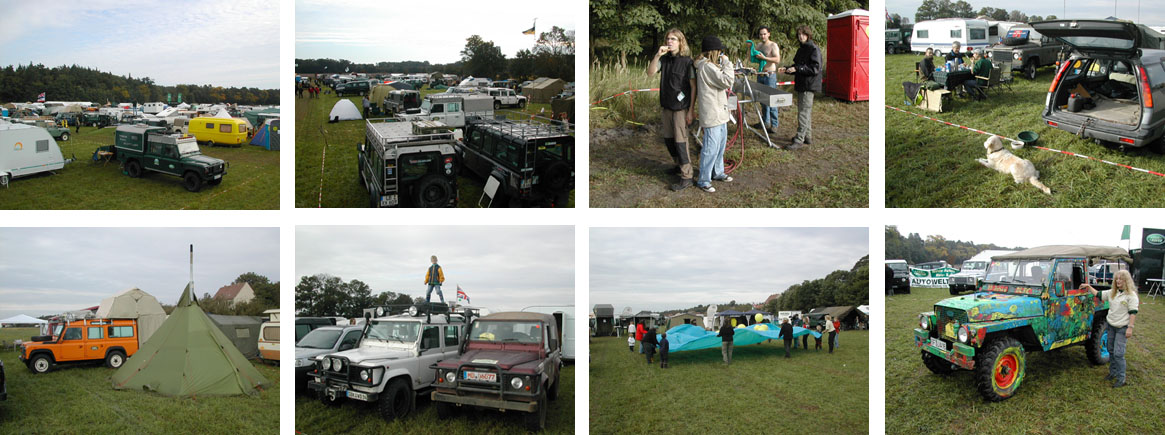 Events 2005: Land Rover