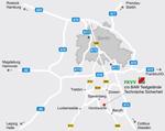 Karte zur Anfahrt Horstwalde