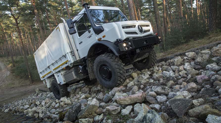 Mercedes-Benz Special Trucks